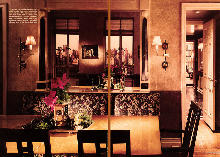 Architectural Digest,Dining Room