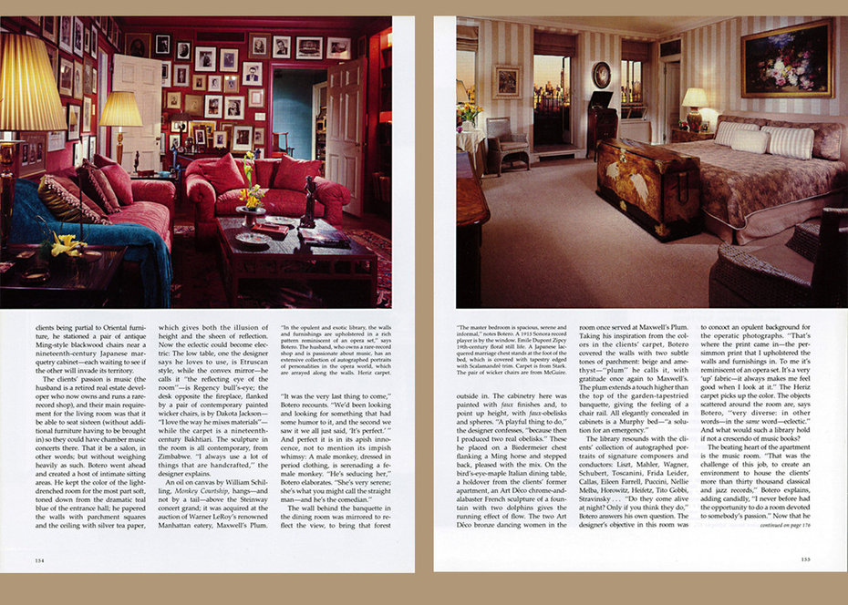 Architectural Digest,Music Room, Bedroom