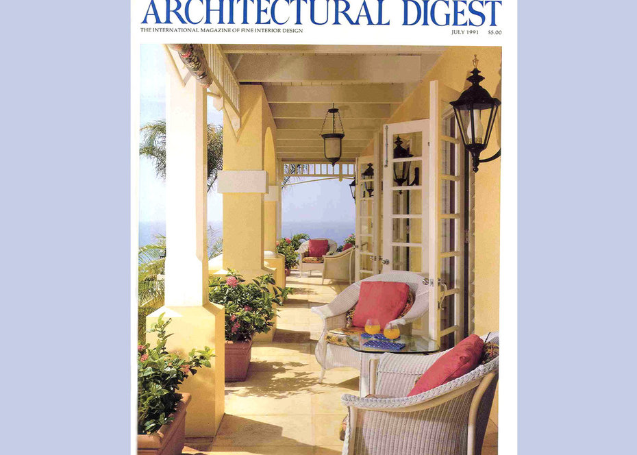 Architectural Digest, Cover, 1992