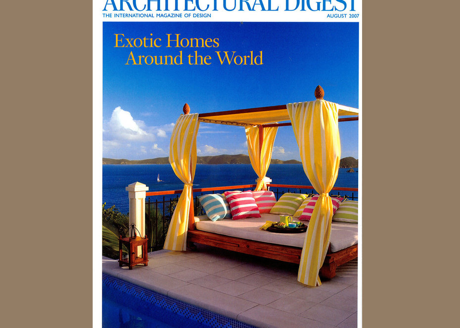 Architerctural Digest, Panama, Cover