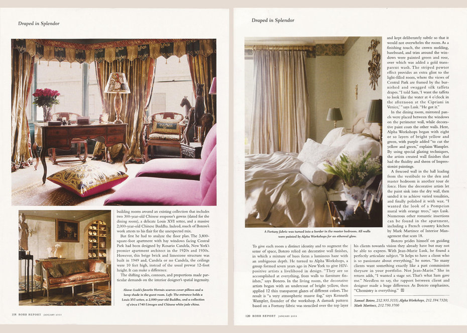 Robb Report, Study, Bedroom