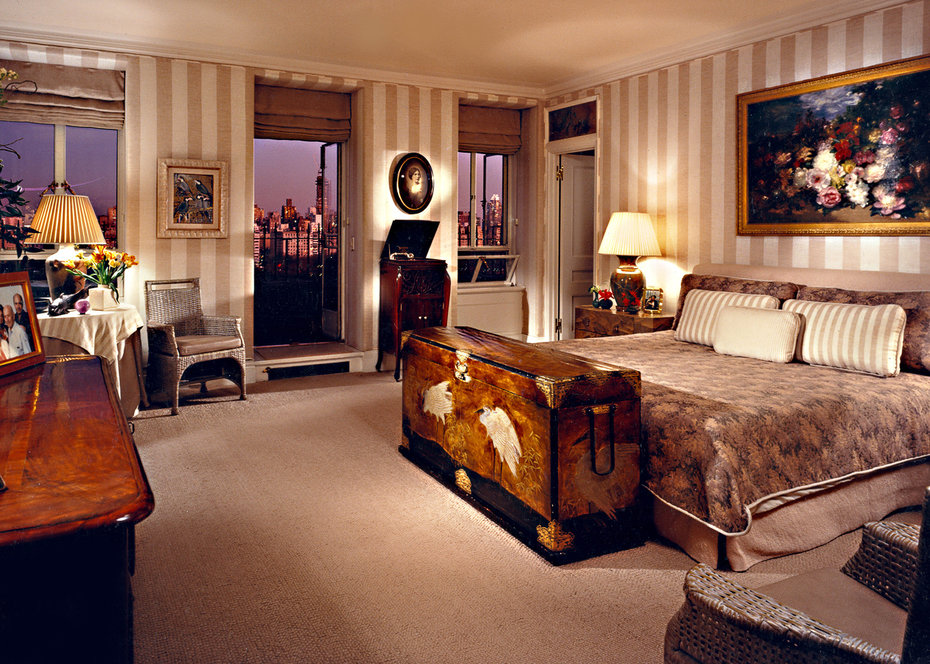 ARCHITECTURAL DIGEST, NEW YORK, Bedroom