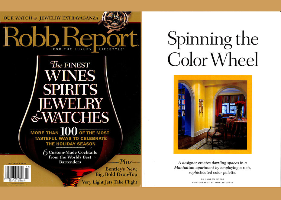 Robb Report, Magazine,