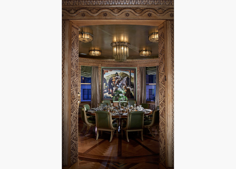 Dining Room,Architectural Digest