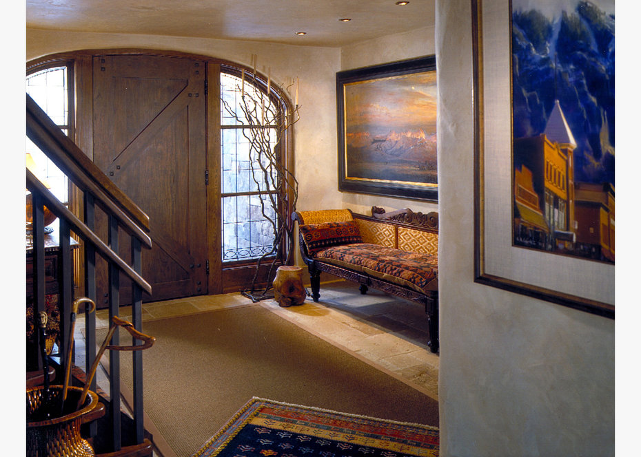 Foyer, ROCKY MOUNTAIN, ARCHITECTURAL DIGEST
