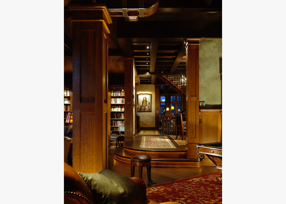 HALL, ROCKY MOUNTAIN, ARCHITECTURAL DIGEST