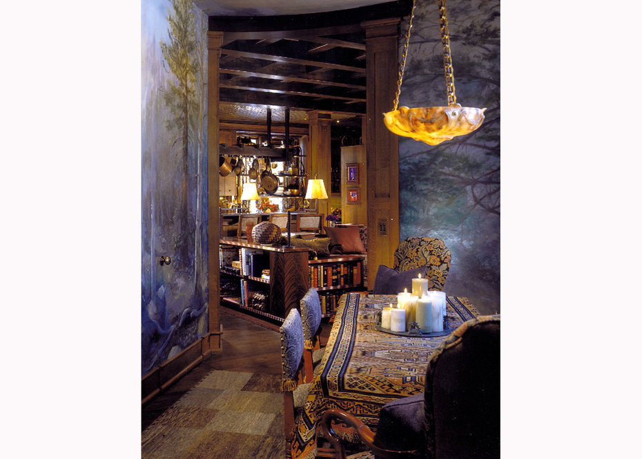 Breakfast Room, ROCKY MOUNTAIN, ARCHITECTURAL DIGEST