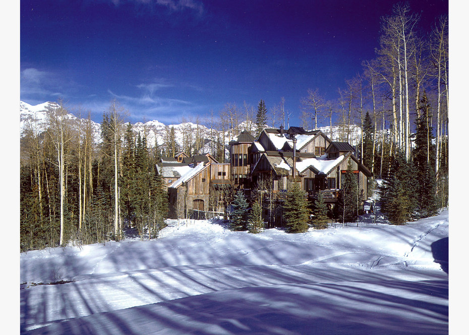 Exterior, ROCKY MOUNTAIN, ARCHITECTURAL DIGEST