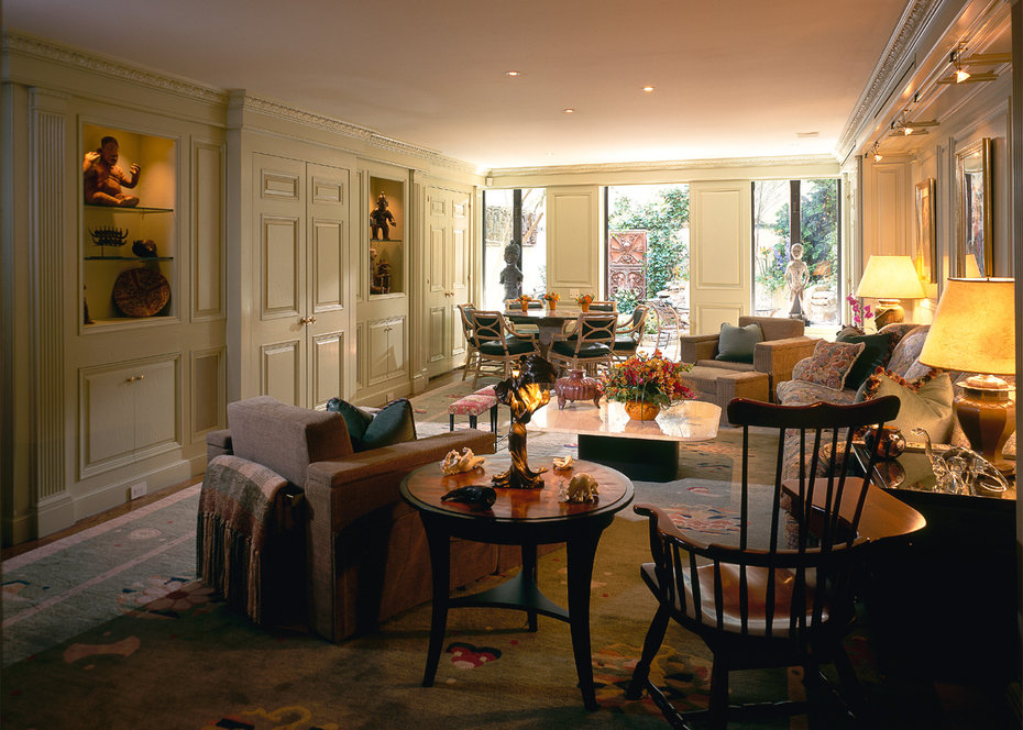 Family Room,Architectural Digest