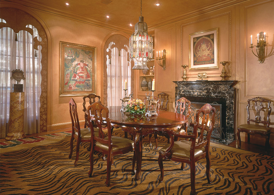 Dining Room, Architectural Digest