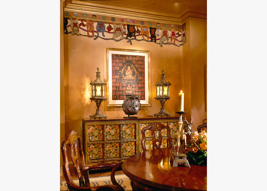Dining Room, Deatil, Architectural Digest