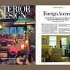 Interior Design, Cover, Country Retreat, Article