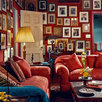 ARCHITECTURAL DIGEST, NEW YORK, Music Room, Library