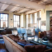 ROBB REPORT, Living Room, Dining Room