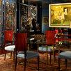 Dining Room, Hispanic Art, Botero, New York, Art Deco, King,Heart
