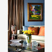 Living Room,Tibetan Rug,Hispanic Art, New York, Botero